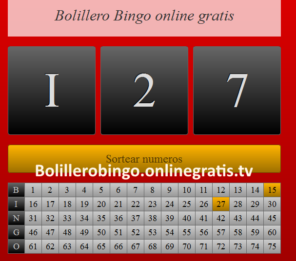 Bingo on line gratis